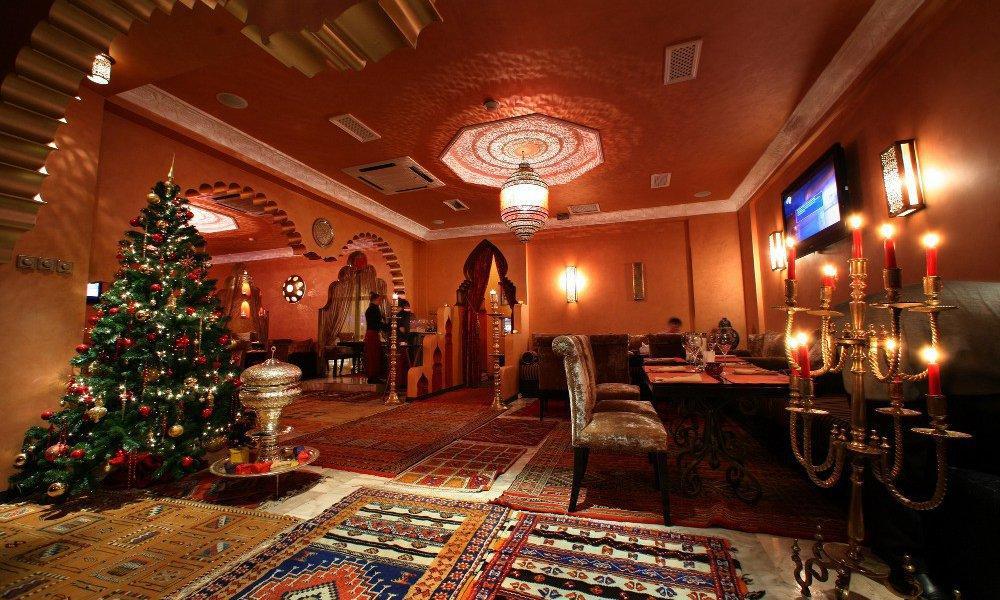 Марокканское Кафе Касабланка на Маяковской (Оружейный переулок) фото 14