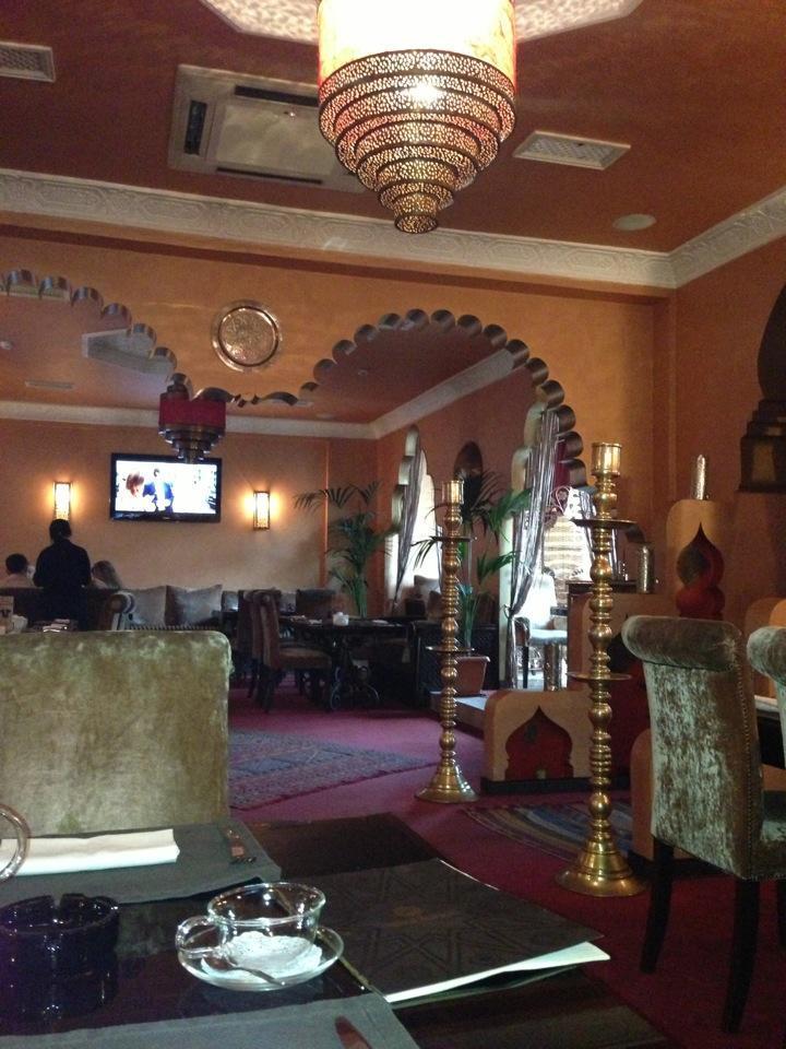 Марокканское Кафе Касабланка на Маяковской (Оружейный переулок) фото 20