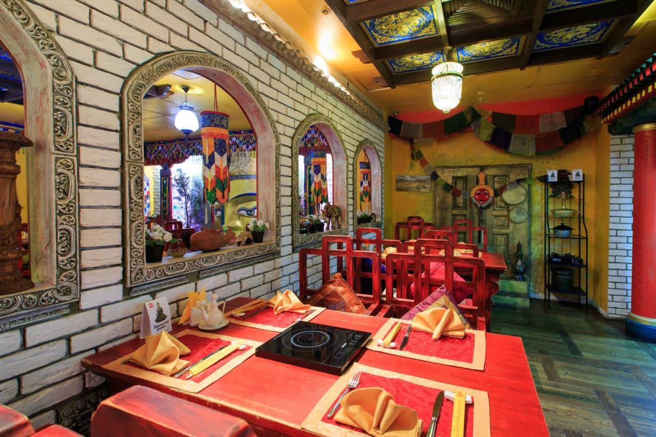 Ресторан Тибет Гималаи на Лубянке фото 28