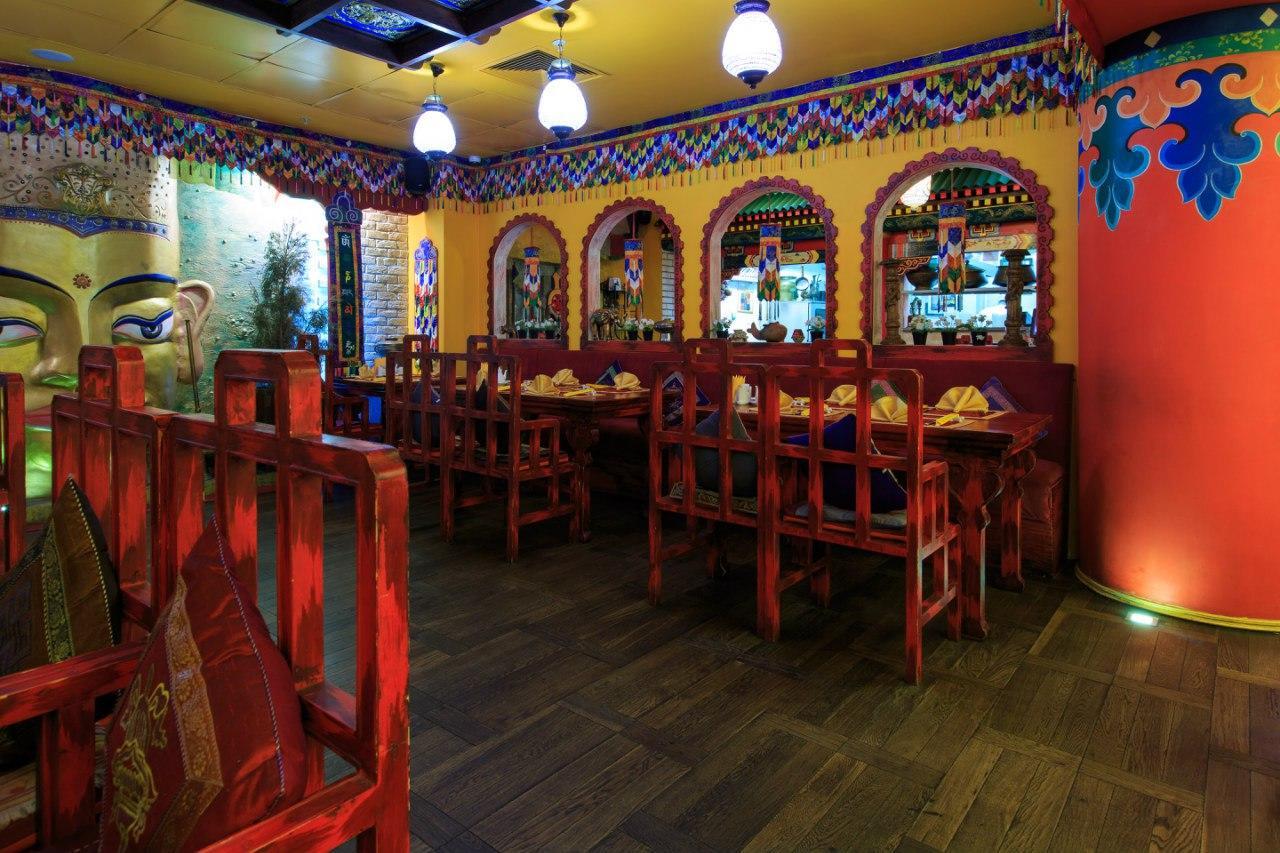 Ресторан Тибет Гималаи на Лубянке фото 29