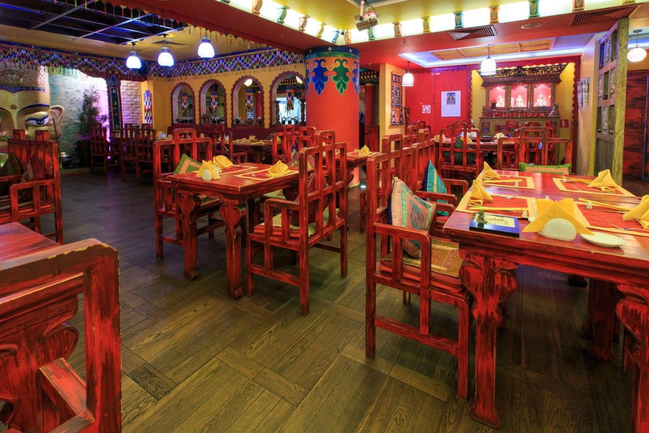 Ресторан Тибет Гималаи на Лубянке фото 39