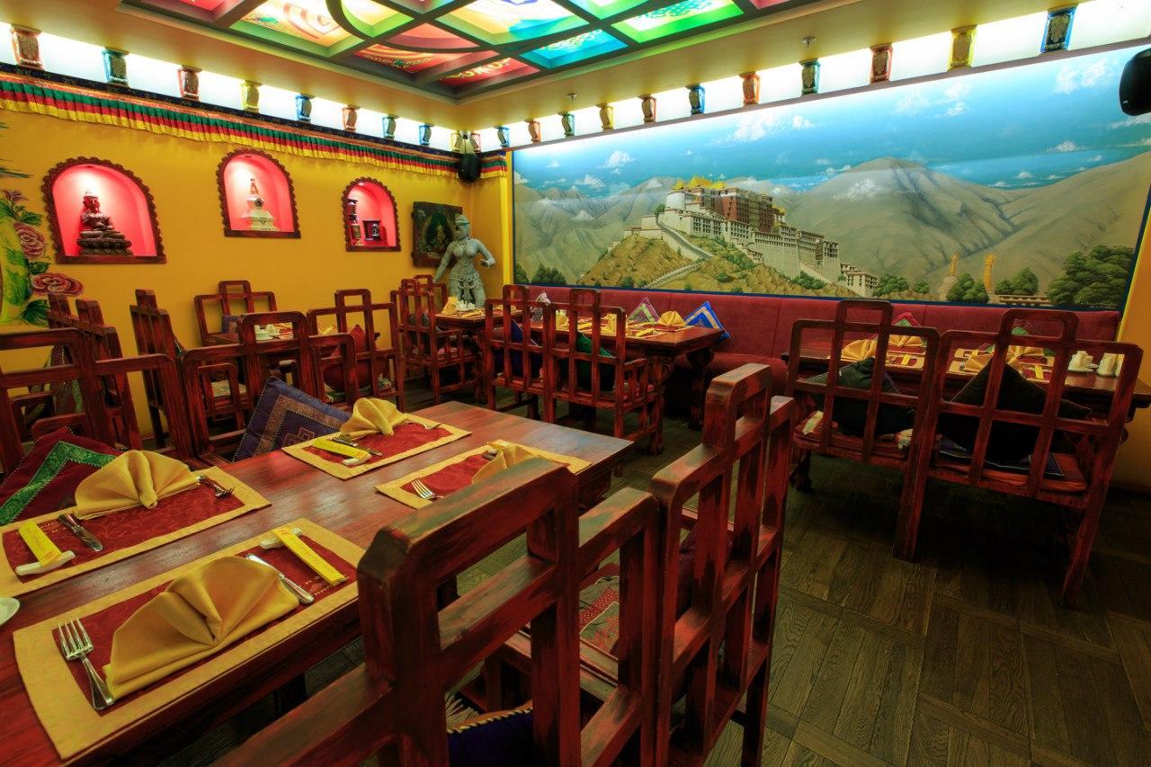 Ресторан Тибет Гималаи на Лубянке фото 40