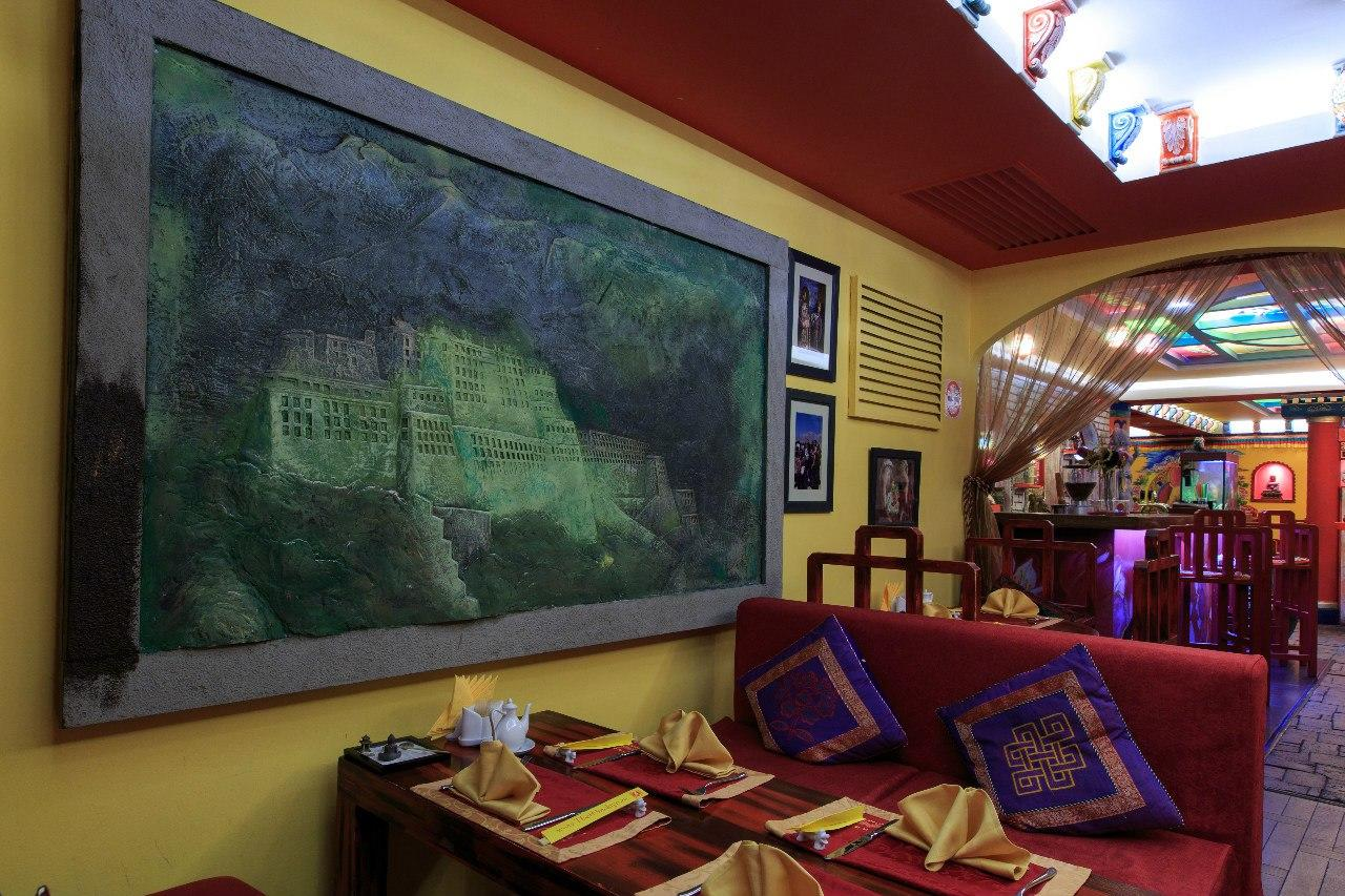 Ресторан Тибет Гималаи на Лубянке фото 19