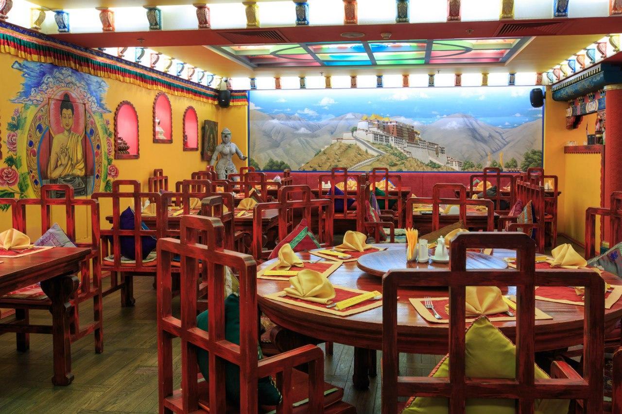 Ресторан Тибет Гималаи на Лубянке фото 25