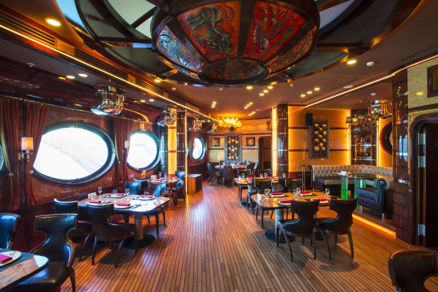 в москве ресторан лодка