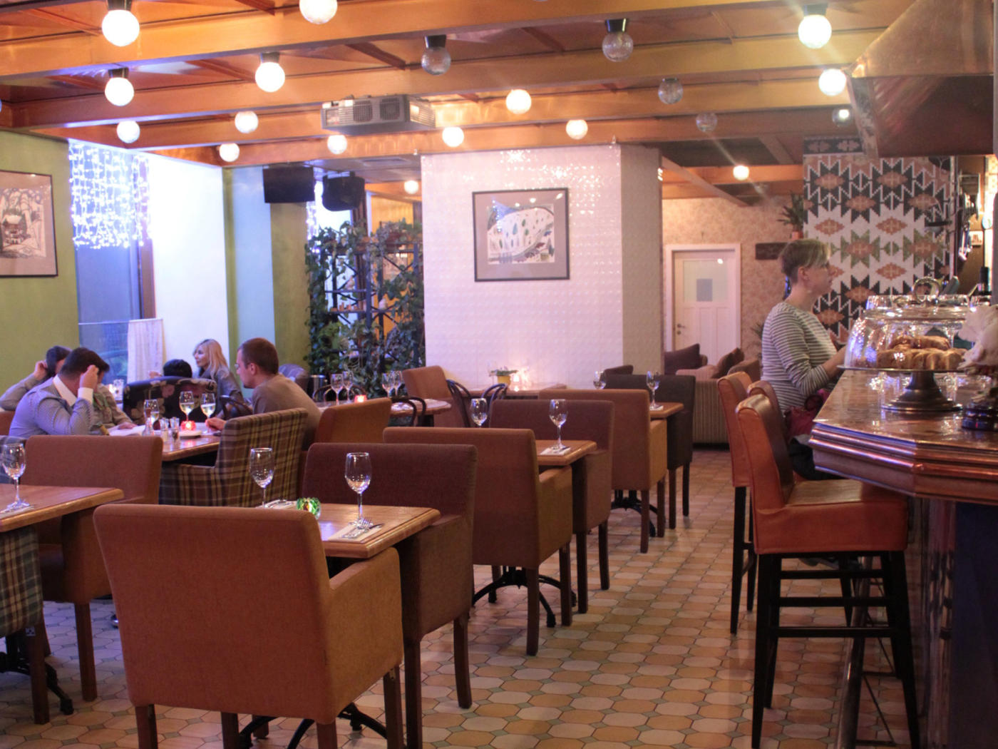 Ресторан Голубка на Спортивной (Большая Пироговская) фото 18