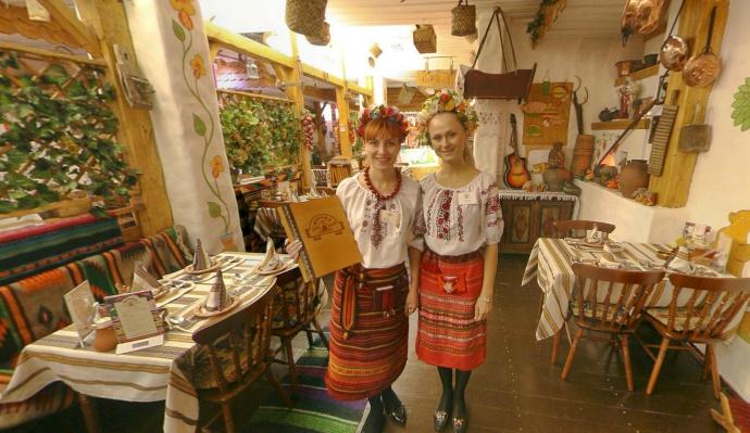 Украинский Ресторан Корчма Тарас Бульба на Красных Воротах фото 4