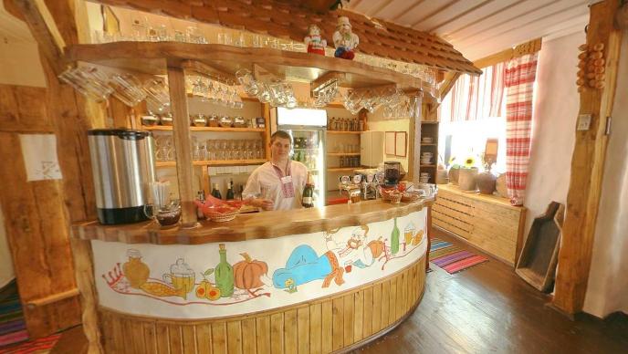 Украинский Ресторан Корчма Тарас Бульба на Красных Воротах фото 6