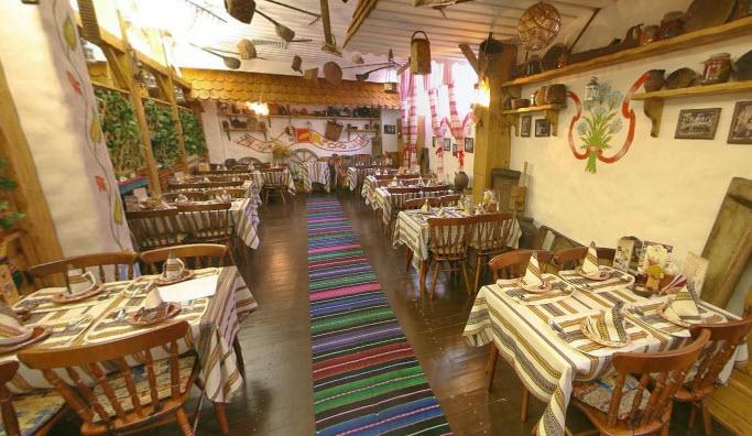 Украинский Ресторан Корчма Тарас Бульба на Красных Воротах фото 15