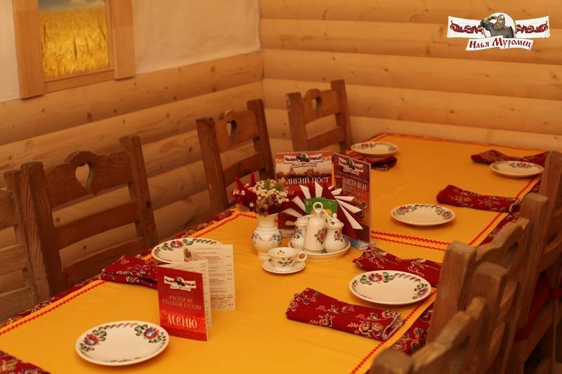 Русский Ресторан Илья Муромец на Ленинском проспекте фото 6