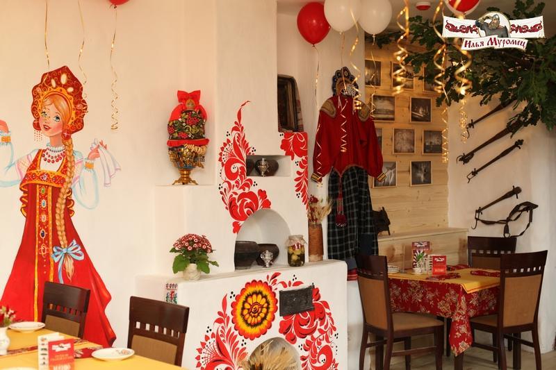 Русский Ресторан Илья Муромец на Ленинском проспекте фото 3