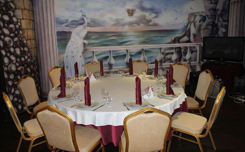 Ресторан Белый павлин фото