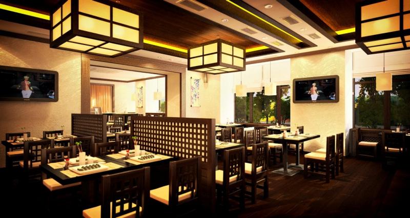 Японский Ресторан Цветение сакуры фото 1