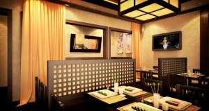Японский Ресторан Цветение сакуры фото 3