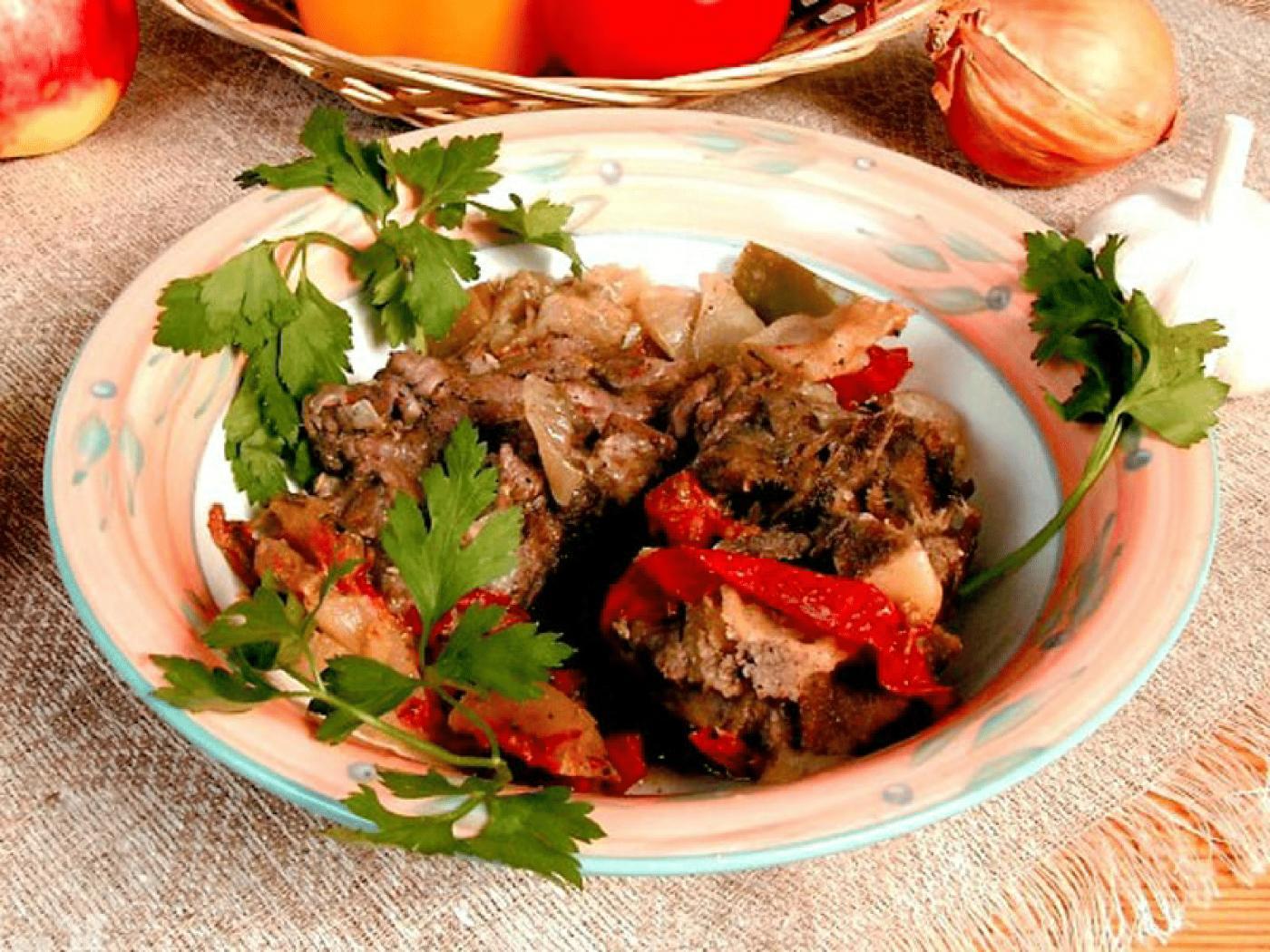 Как готовить хашламу из говядины с картошкой рецепт пошагово