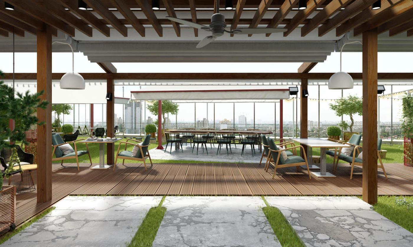Ресторан Балкон в Лотте Плаза фото 5