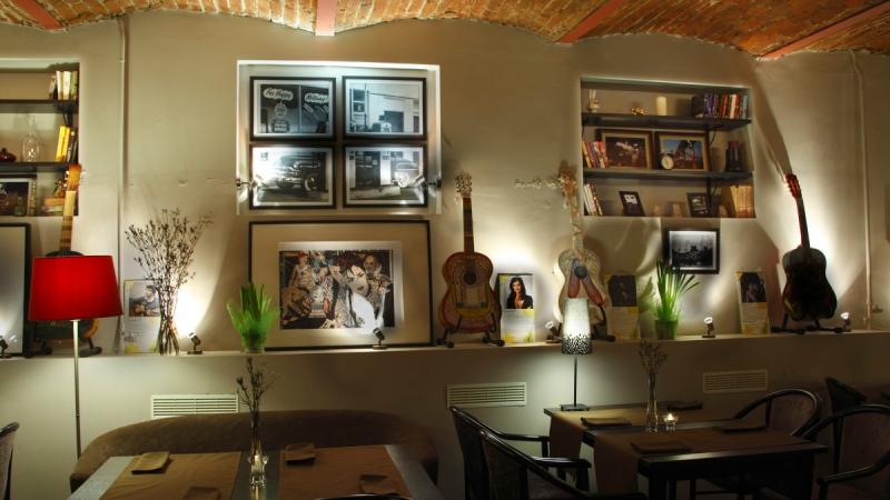 Арт-кафе Выставка фото 14