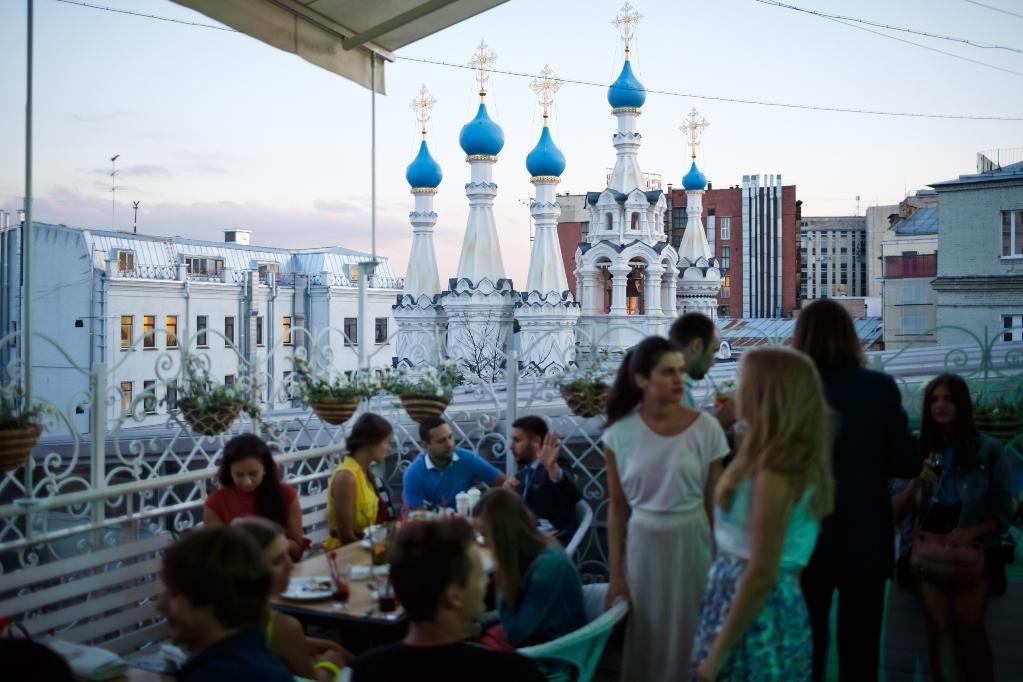 Ресторан Счастье на Крыше на Чеховской фото 75