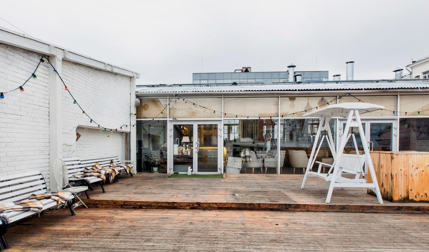 Ресторан Счастье на Крыше на Чеховской фото 4