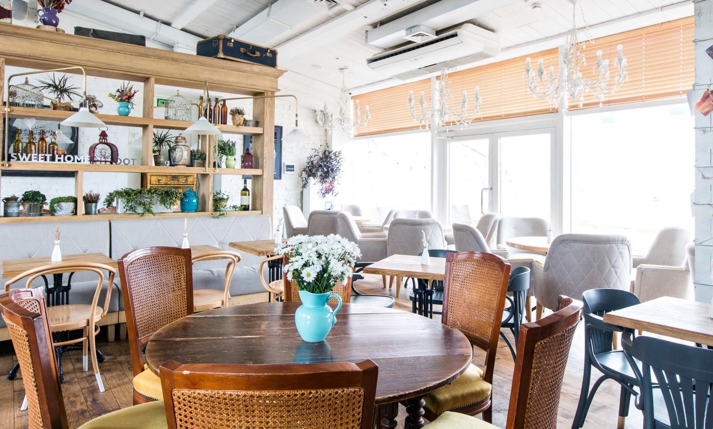 Ресторан Счастье на Крыше на Чеховской фото 11