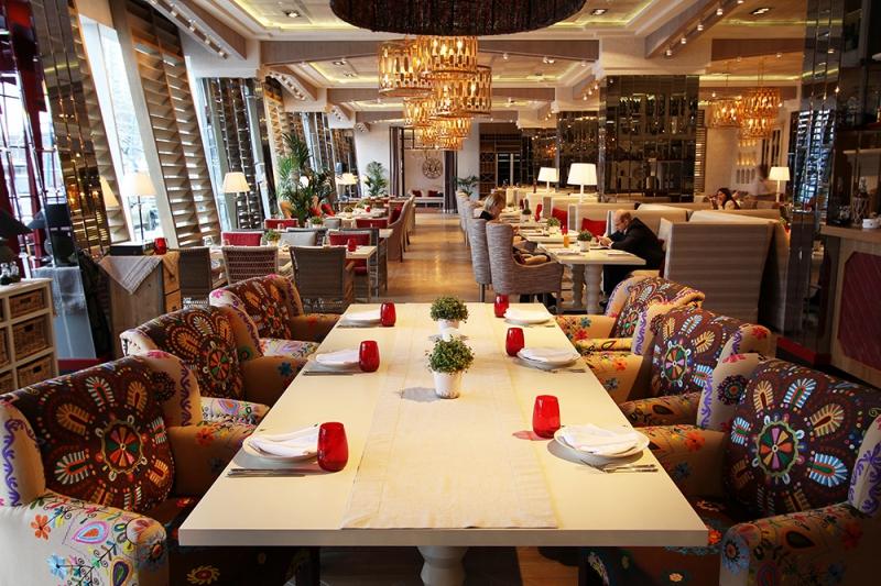 Ресторан Seasons на Ленинском проспекте (Сизонс - ТРЦ РИО) фото 35