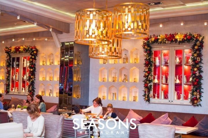 Ресторан Seasons на Ленинском проспекте (Сизонс - ТРЦ РИО) фото 39