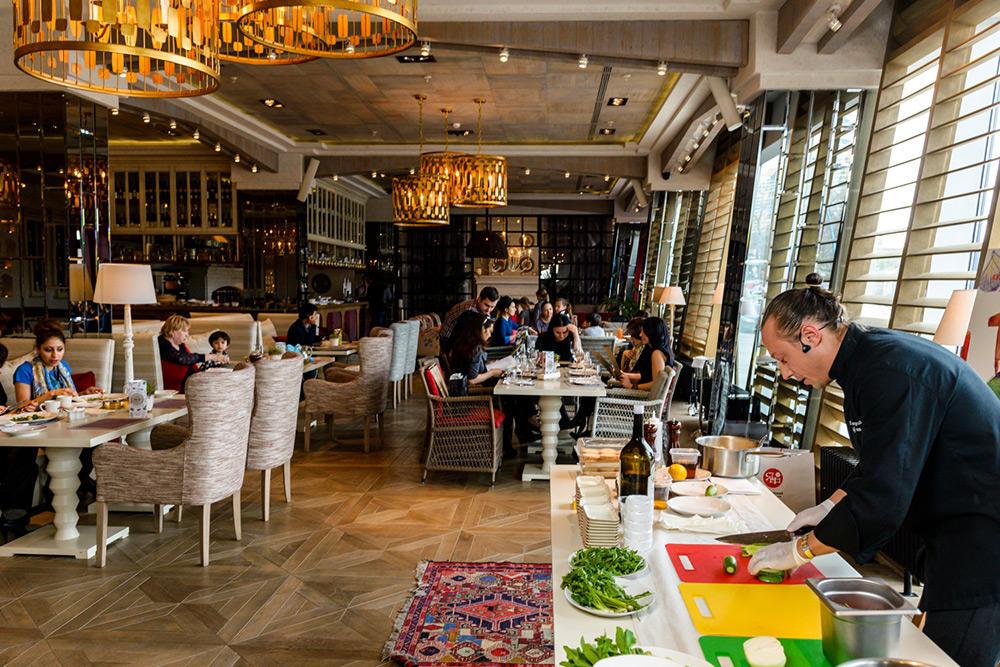Ресторан Seasons на Ленинском проспекте (Сизонс - ТРЦ РИО) фото 44