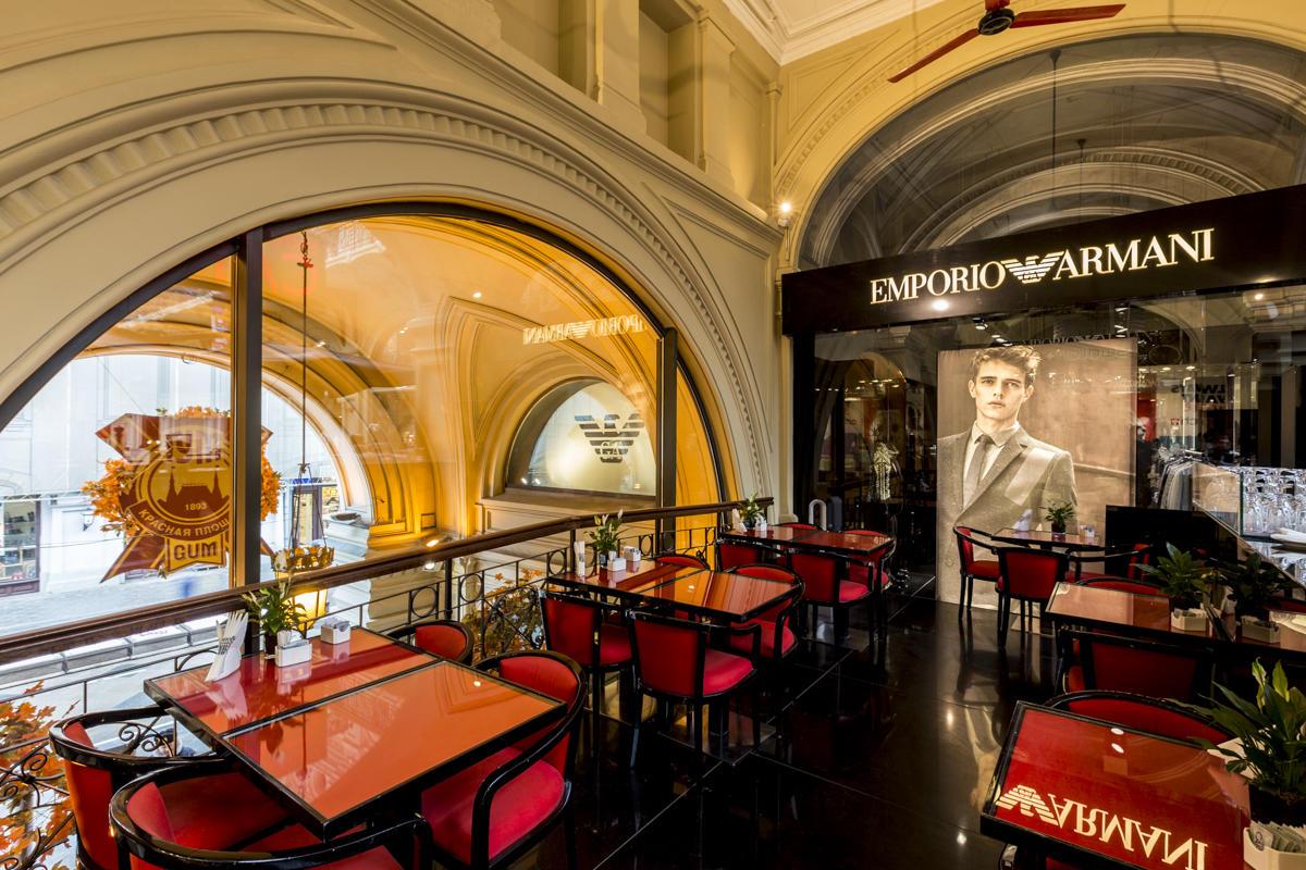 Кафе Emporio Armani Caffe фото