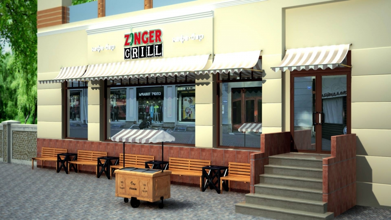 Ресторан Zinger Grill (Зингер Гриль) фото 9