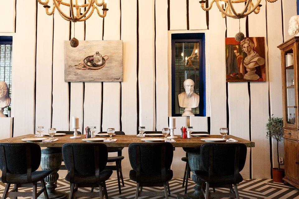 Греческий Ресторан Molon Lave (Молон Лаве) фото 36