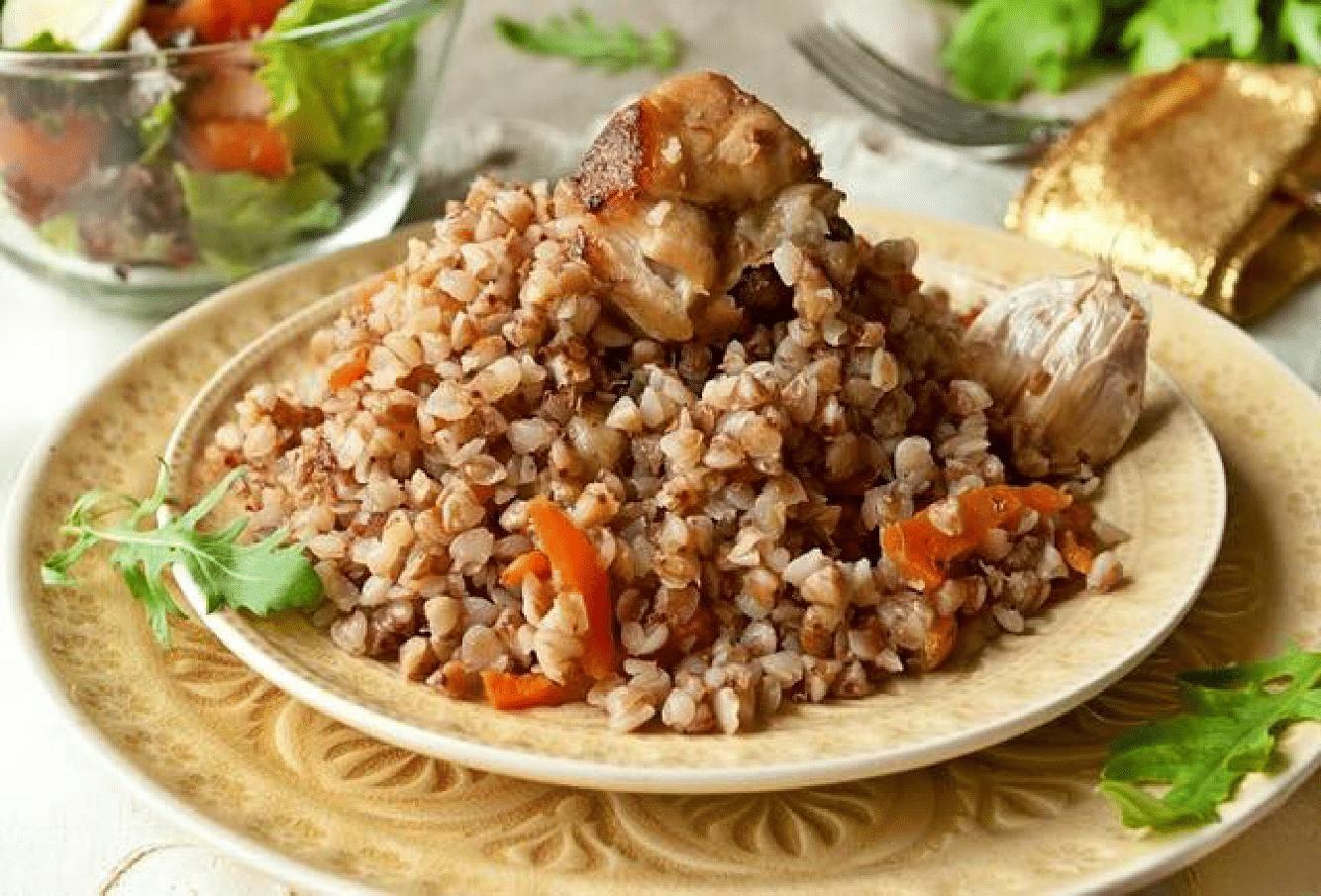 Гречка по-купечески рецепт с курицей в духовке