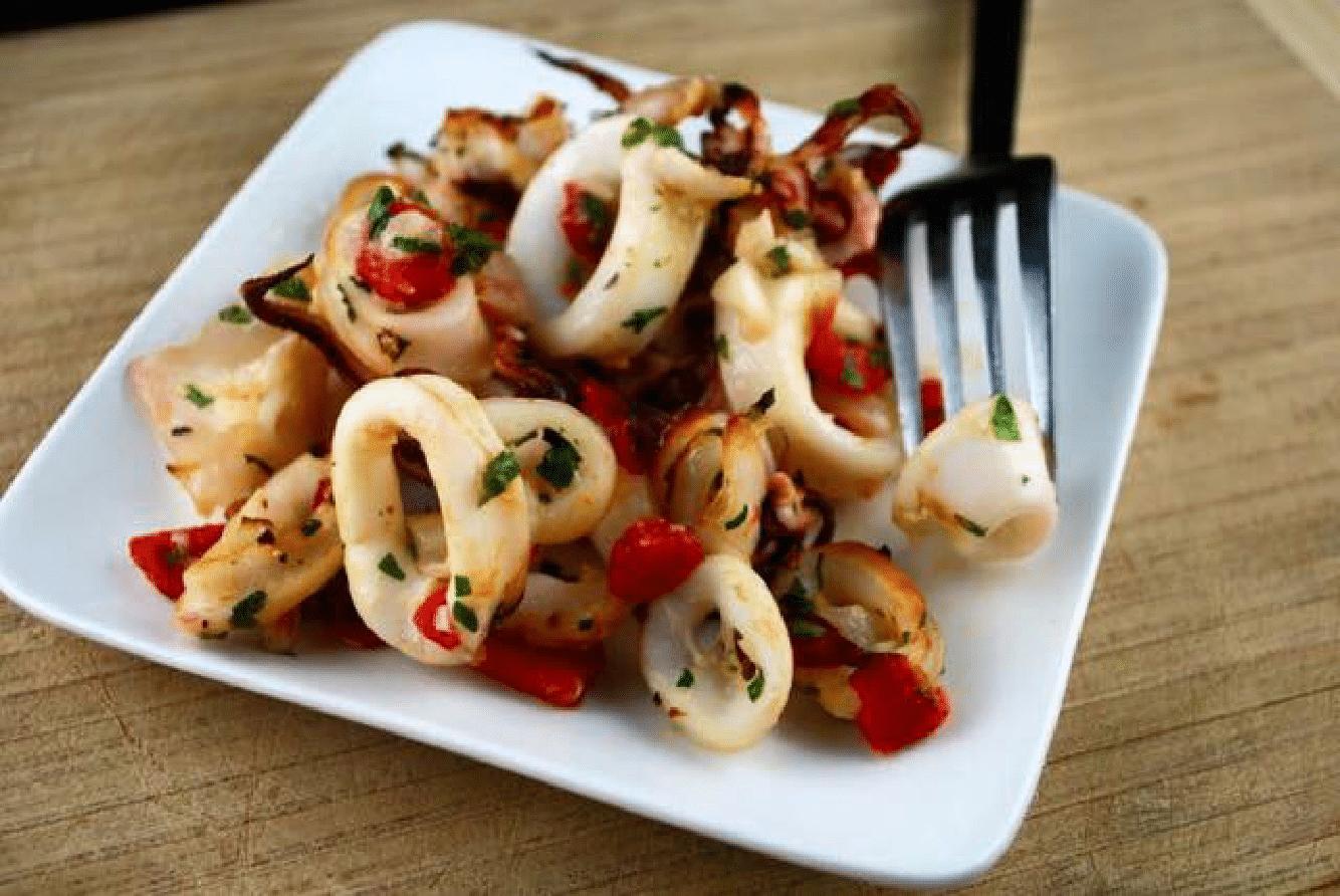 Кальмар рецепты простые и вкусные жареные