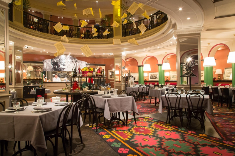 Ресторан Чайковский в Тифлисе фото