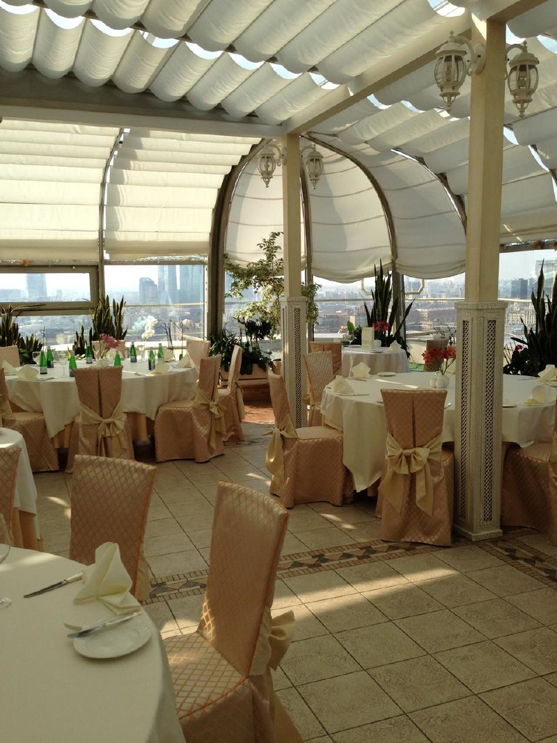 Панорамный Ресторан в гостинице Зимний Сад фото 5