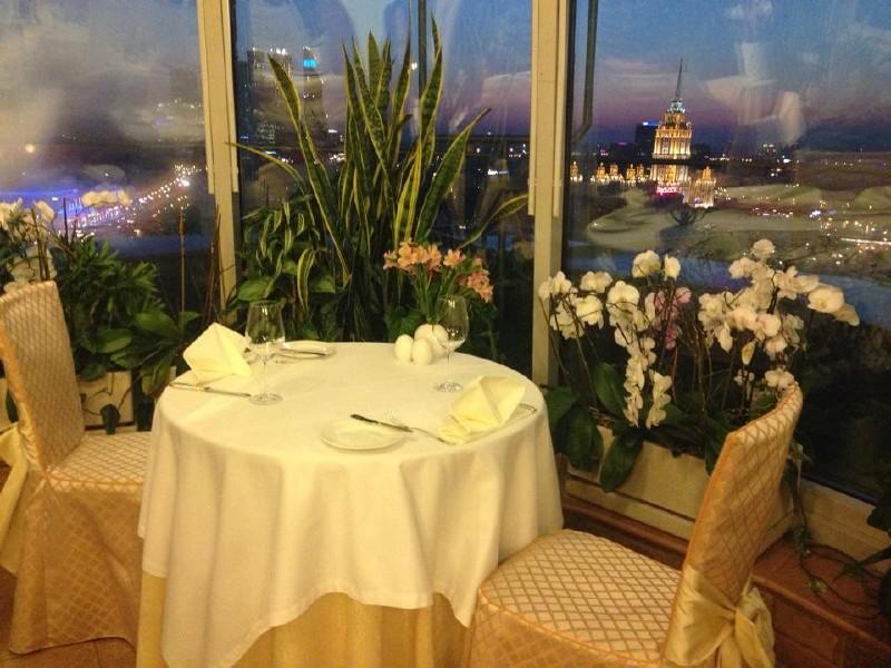 Панорамный Ресторан в гостинице Зимний Сад фото 7