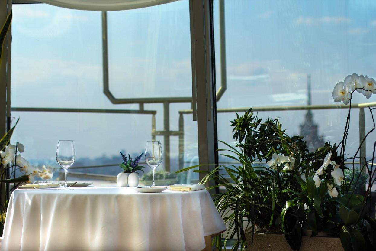 Панорамный Ресторан в гостинице Зимний Сад фото 3