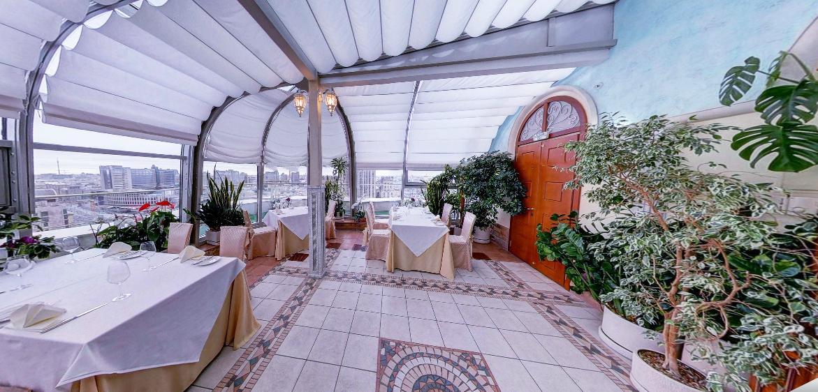 Панорамный Ресторан в гостинице Зимний Сад фото 8