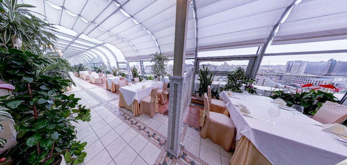 Панорамный Ресторан в гостинице Зимний Сад фото 10