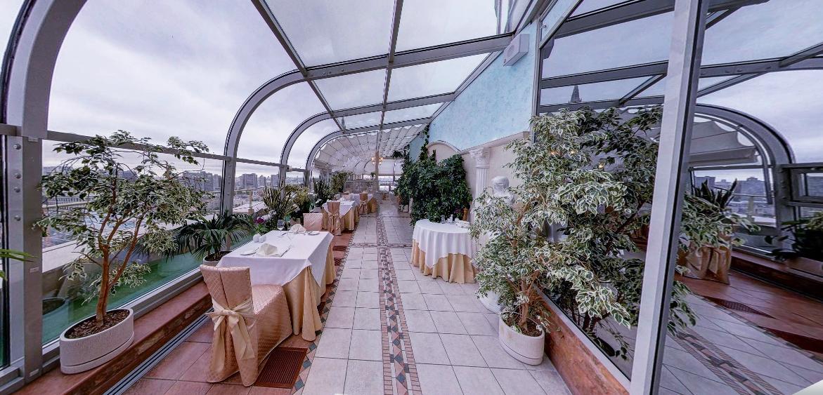 Панорамный Ресторан в гостинице Зимний Сад фото 11