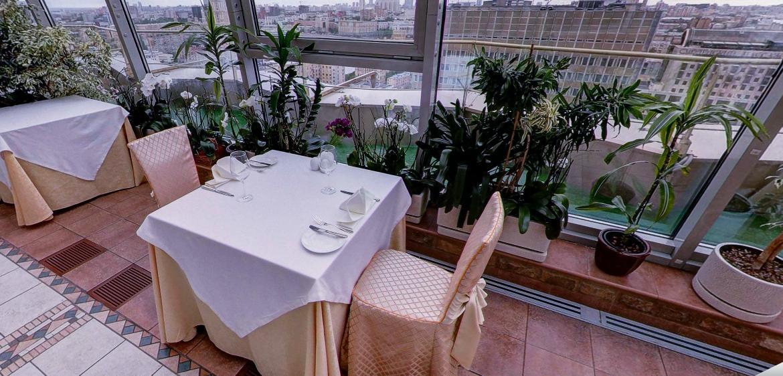 Панорамный Ресторан в гостинице Зимний Сад фото 12