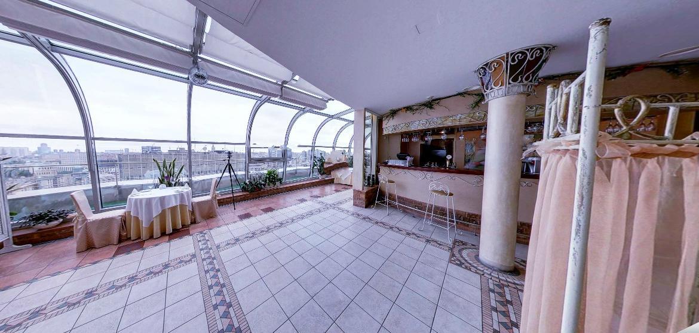 Панорамный Ресторан в гостинице Зимний Сад фото 13