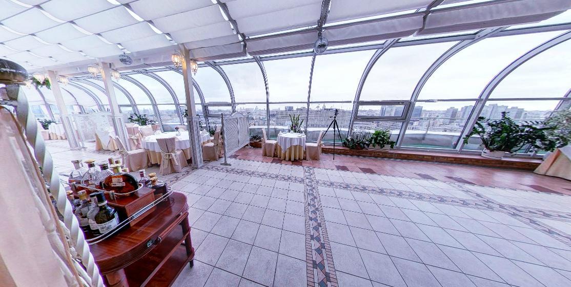 Панорамный Ресторан в гостинице Зимний Сад фото 14