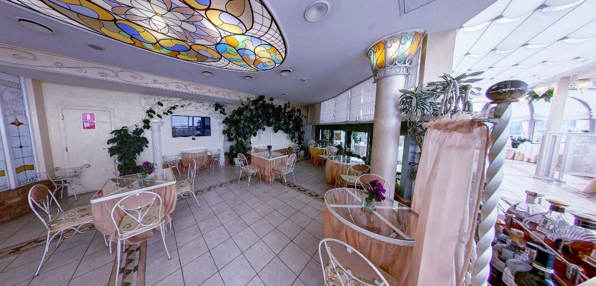 Панорамный Ресторан в гостинице Зимний Сад фото 15