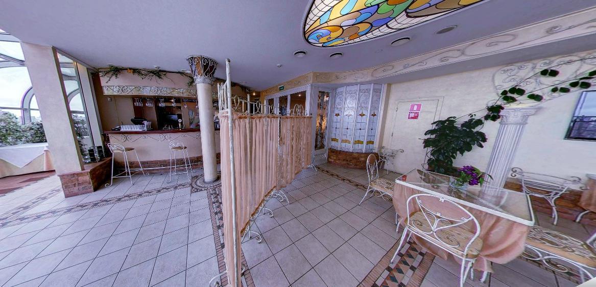 Панорамный Ресторан в гостинице Зимний Сад фото 16