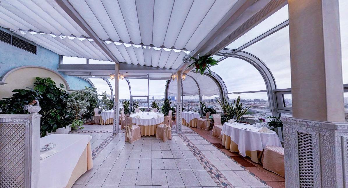 Панорамный Ресторан в гостинице Зимний Сад фото 17