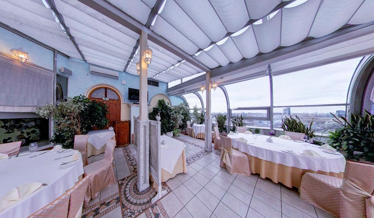 Панорамный Ресторан в гостинице Зимний Сад фото 18