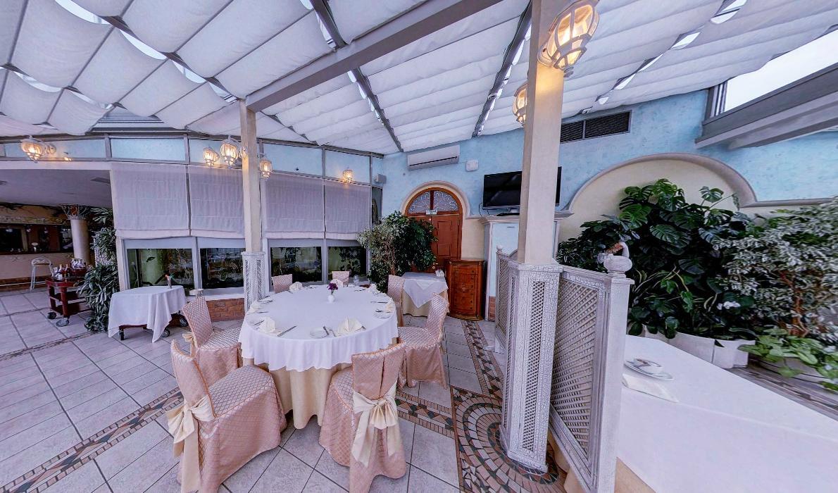 Панорамный Ресторан в гостинице Зимний Сад фото 19