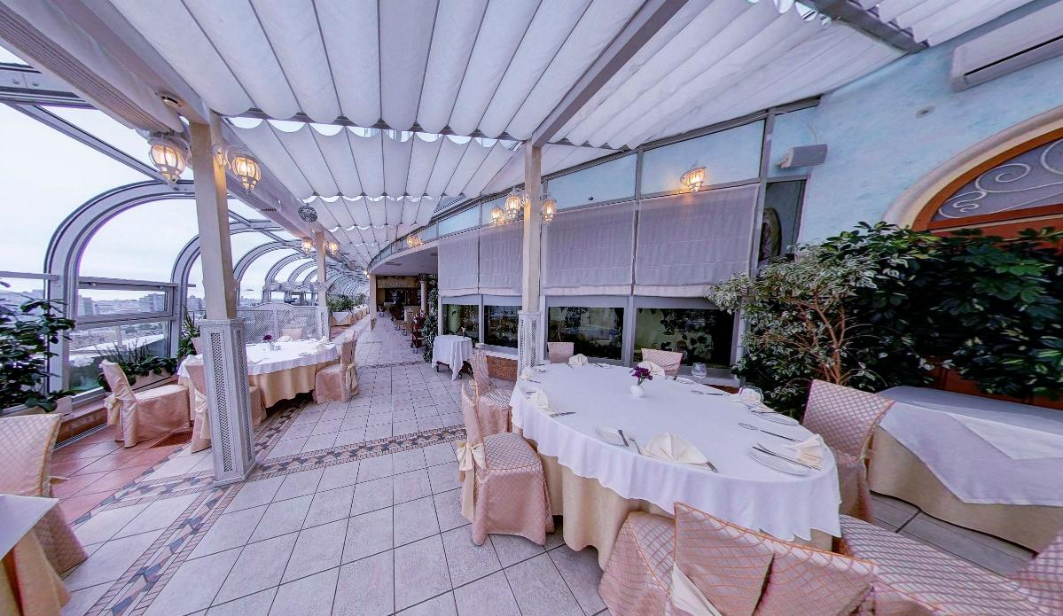 Панорамный Ресторан в гостинице Зимний Сад фото 20