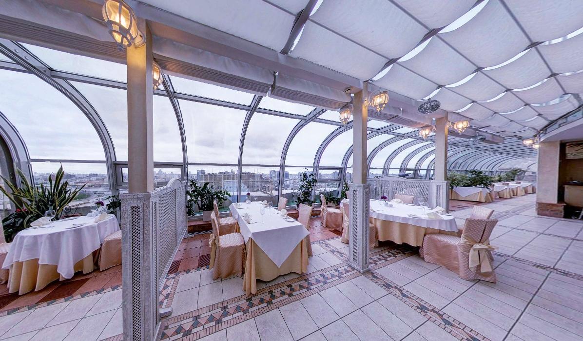 Панорамный Ресторан в гостинице Зимний Сад фото 21