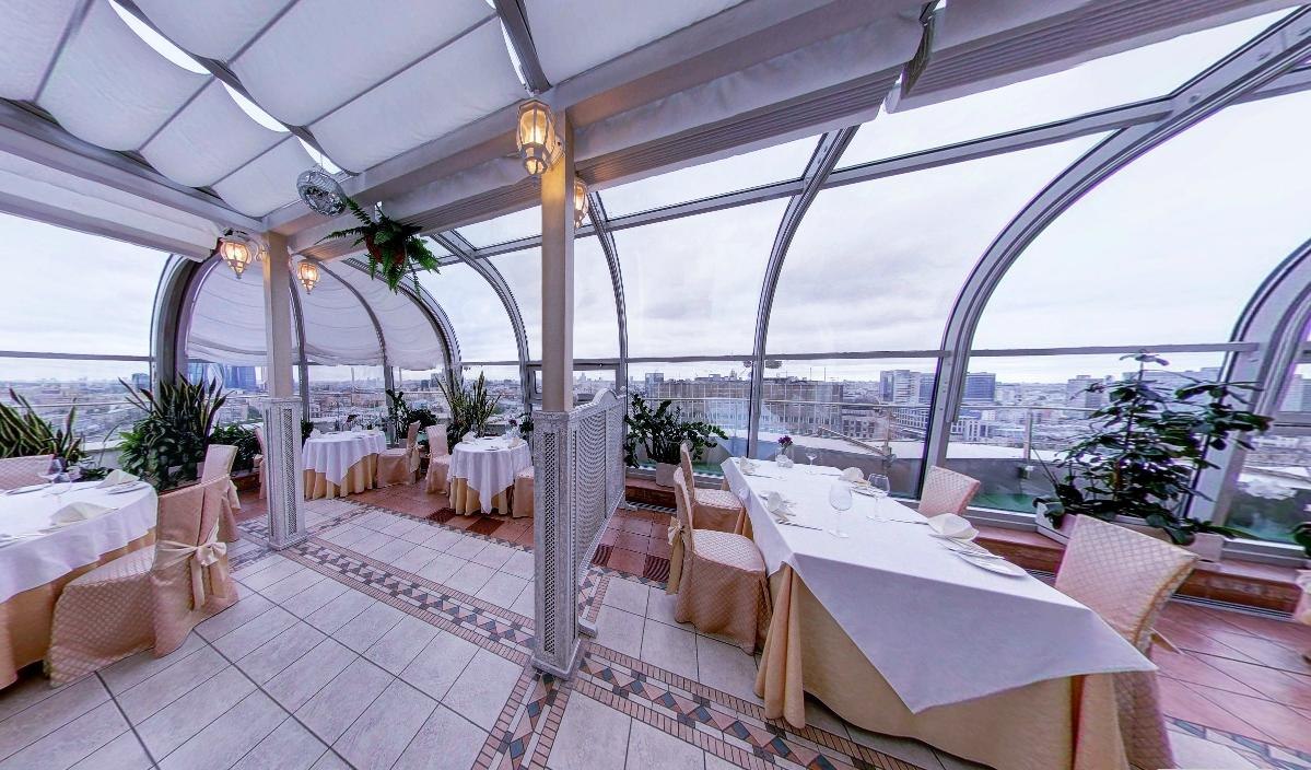 Панорамный Ресторан в гостинице Зимний Сад фото 22